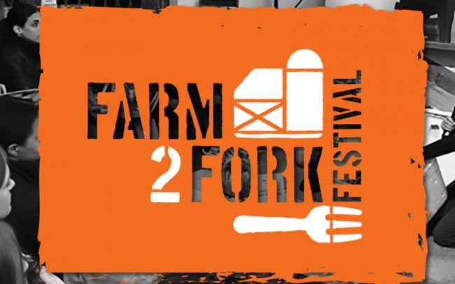 Click to see the festival logo and promotion for Rodale's Organic Life's Farm2Fork Festival.