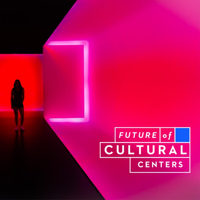 Future of Cultural Centers logo and social media