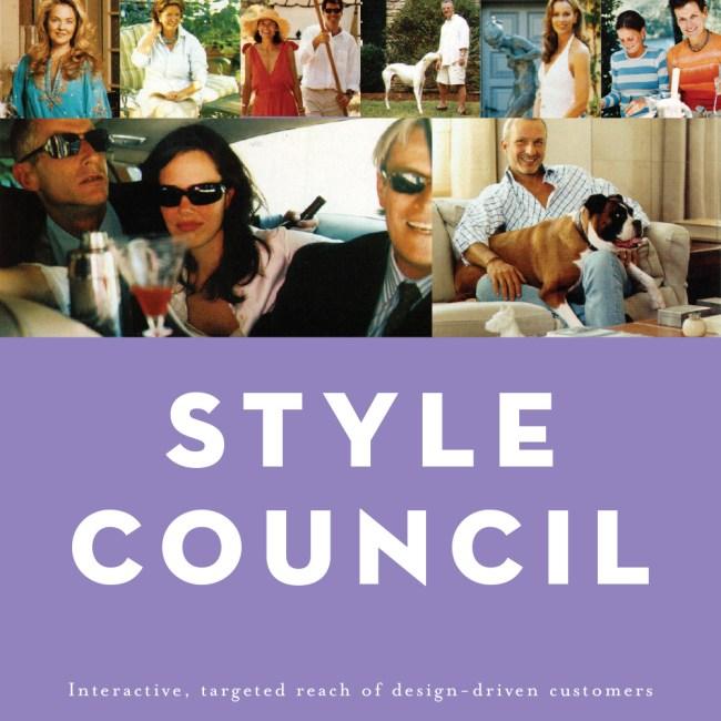 House & Garden Style Council brochure